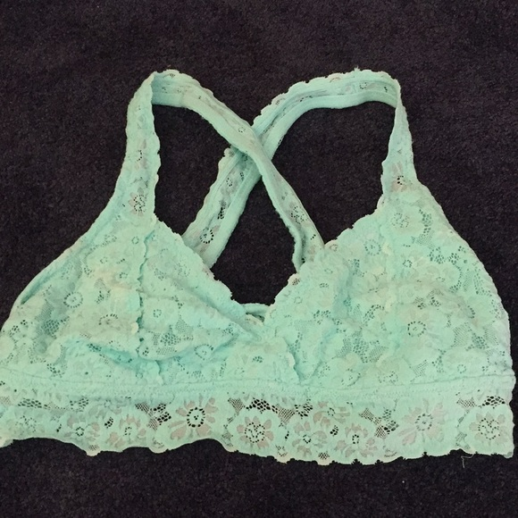 8f8997224f8 aerie Other - Aerie Classic Crossback Lace Bralette